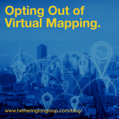 Opting out of Virtual Mapping – Hetherington Group on